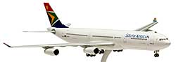 SAA South African Airways - Airbus A340-300 - 1:200 - PremiumModell