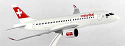 SWISS - Bombardier CS100 - 1:100 - PremiumModell