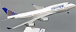 United Airlines - Boeing 747-400 - 1:200 - PremiumModell