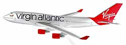Virgin Atlantic - Boeing 747-400 - 1:250