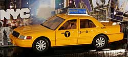 Modellauto - New York City TAXI - 1:24 - Ford Crown Victoria