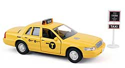 Modellauto - New York City TAXI - Set